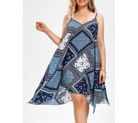 Bright and Breezy Hankerchief Dress