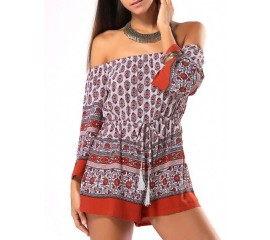 Tribal Design Playsuit